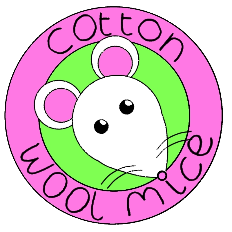 Cotton Wool Mice Logo